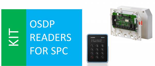 SPCA210 + VR40S-MF + SPC OSDP -Konverter