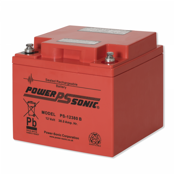 PS12380 Battery 12v/38.0Ah Flame Ret.