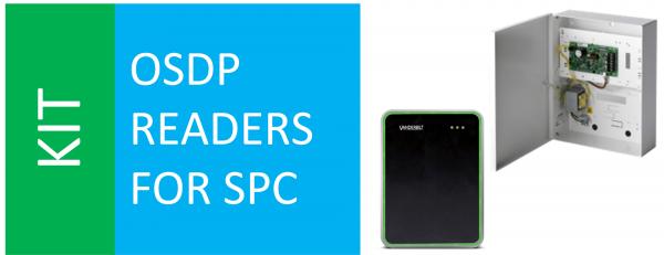 SPCP433 + VR10S-MF + SPC OSDP CONVERTER