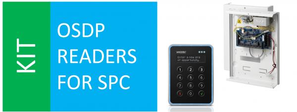 SPCP432 + VR40 + SPC VR OSDP-Konverter