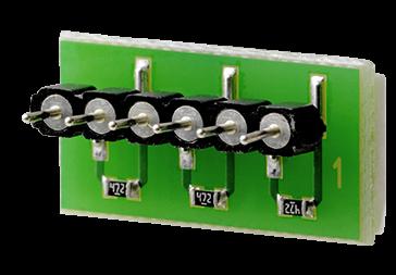 PO-PA05 EOL PCB 1k,3k3,3k3 (100Stk)