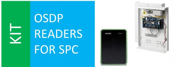 SPCP432 + VR10 + SPC VR OSDP converter