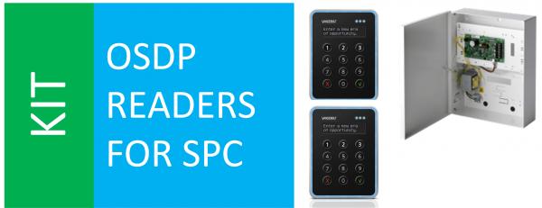 SPCP433 + VR40 x 2 + SPC OSDP converter