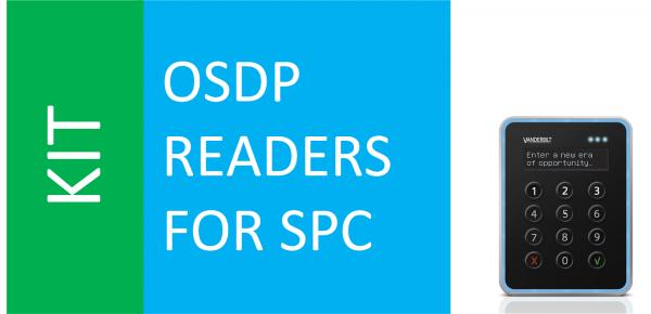 SPC OSDP + VR40S-MF